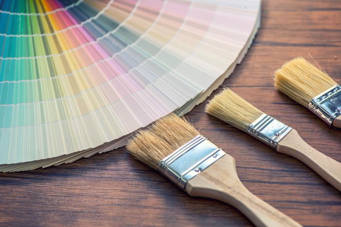 кисти и каталог цветов - статья о том, как правильно выбрать краску
